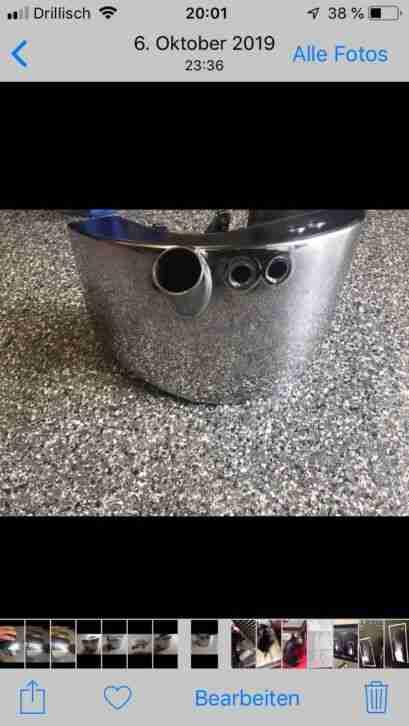 Harley Davidson Softail Öltank
