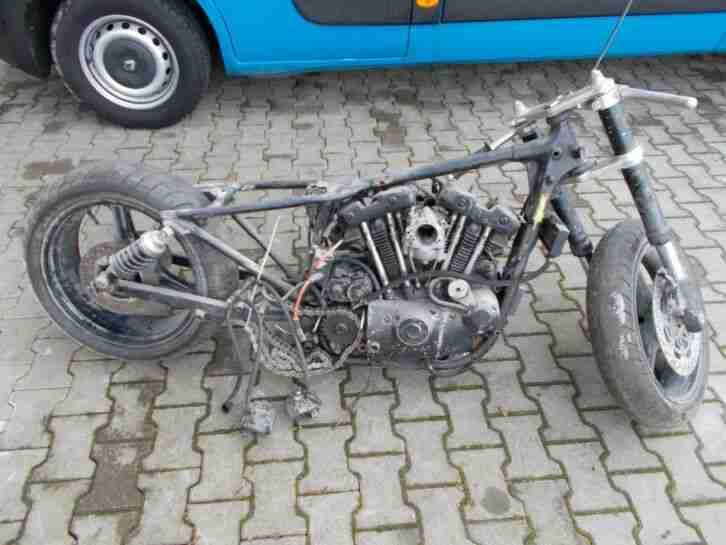 Harley Davidson, Sportster, 1000, Ironhead , Iron Head