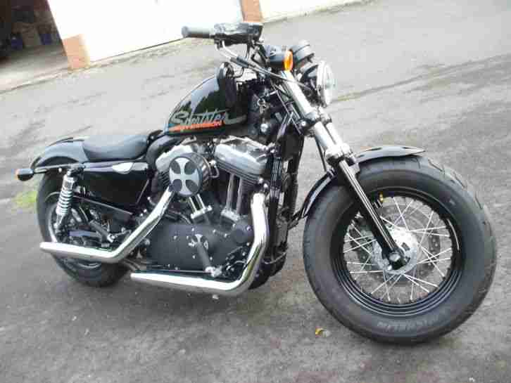 harley davidson sportster 1200 forty eight 48 topseller. Black Bedroom Furniture Sets. Home Design Ideas