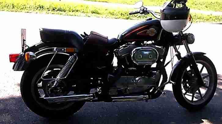 Harley Davidson Sportster 1200XL amerikanisches modell 26 000 meilen