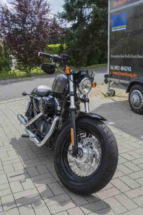 Harley Davidson Sportster 48 Forty eight Top gepflegt Mit Speichen