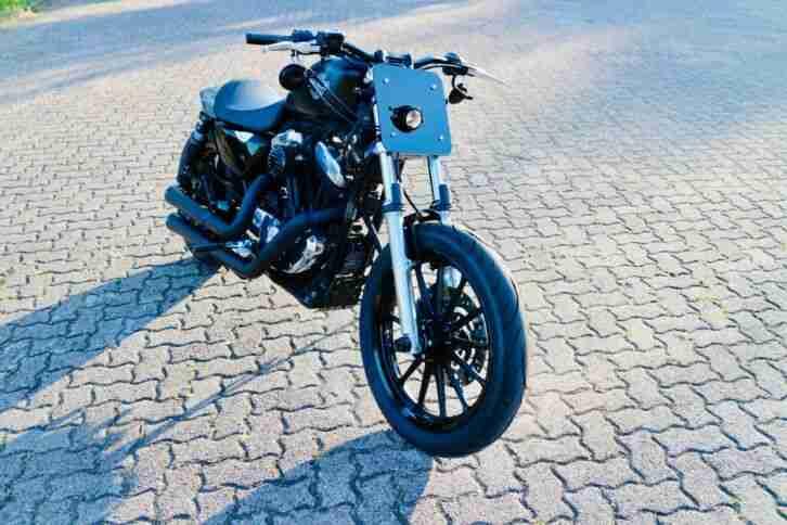 Harley Davidson Sportster 883 XL Flat Tracker Scrambler Cafe Racer