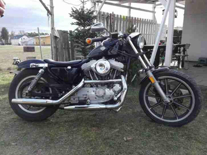 Harley Davidson Sportster 883 XLH Deluxe TÜV neu Oldtimer TOP Sozi Sitzbank