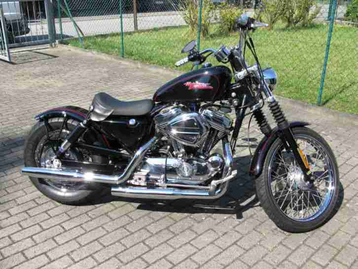 harley davidson sportster xl 1200 custom umbau topseller harley davidson. Black Bedroom Furniture Sets. Home Design Ideas