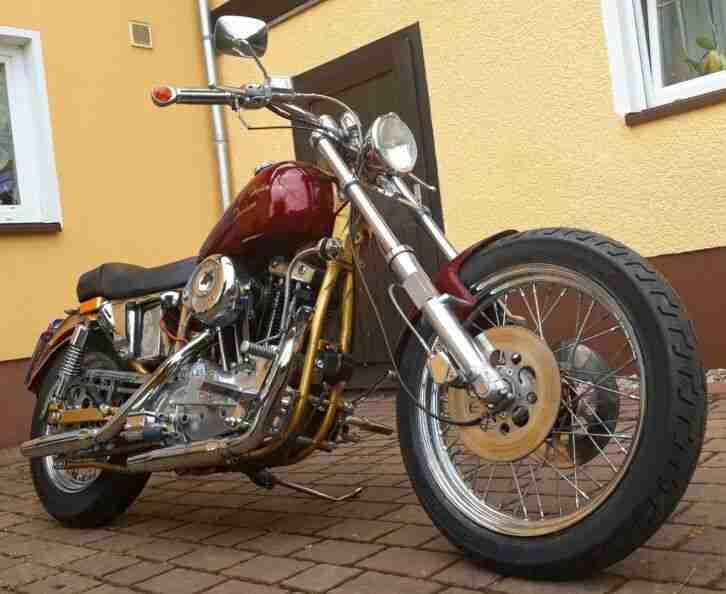 Harley Davidson Sportster XLCH 1000 BJ1981