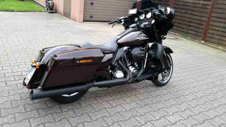 harley davidson street glide 103 flhx im 2015er. Black Bedroom Furniture Sets. Home Design Ideas