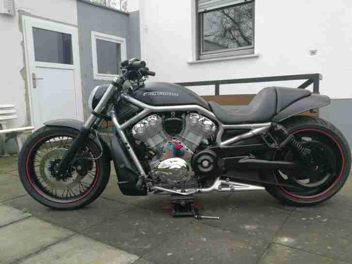 Harley Davidson V Rod schöner Umbau 13715 km , ABS