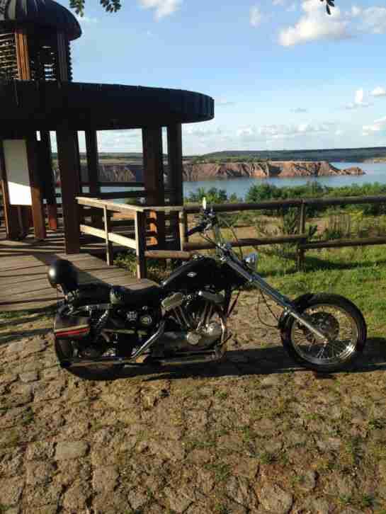Harley Davidson XL 883 Old School Chopper