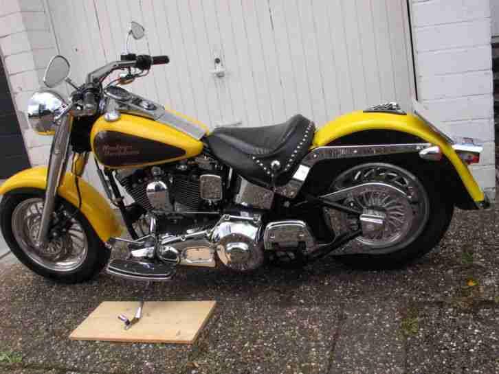 Harley FLSTF Softail Fat Boy Evo 07. 1999