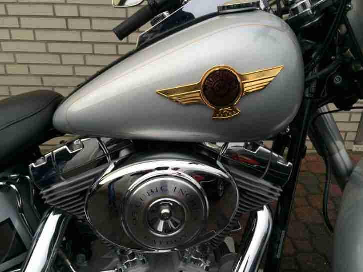 Harley Fat Boy 2005 neuwertiger Zustand limited Edition deutsch.Fhzg.1 Hd.13tkm