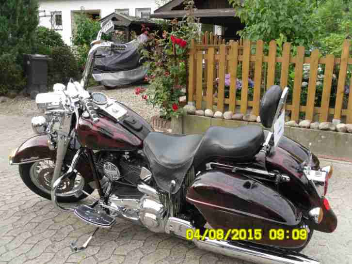 Harley Heritage Softail Typ Twin Can FLSTS Bauj 2000 Tuev bis 05/17 Org USA