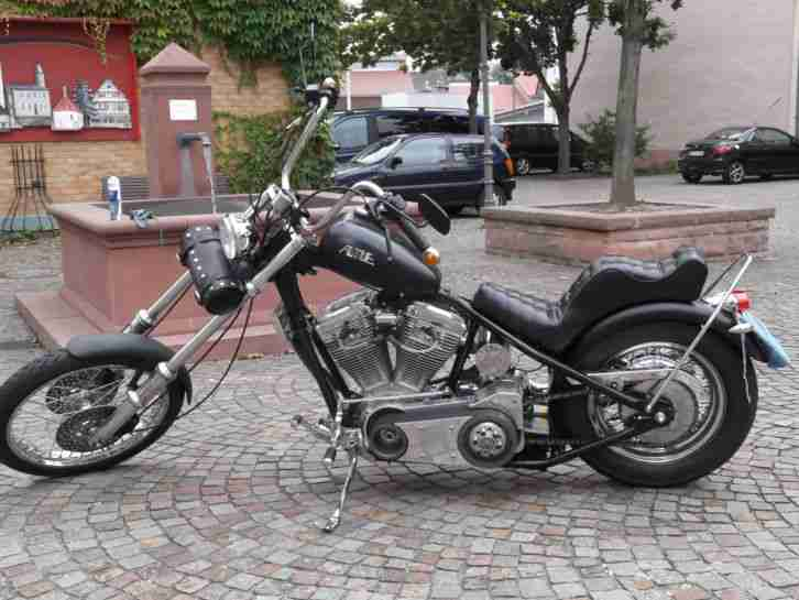 harley motor ame chopper starrahmen hinterrad topseller harley davidson. Black Bedroom Furniture Sets. Home Design Ideas