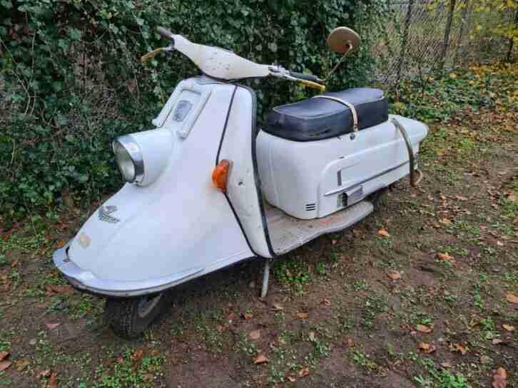 Heinkel Tourist 103 A 2, fast komplett & original. Gute Basis zum restaurieren!