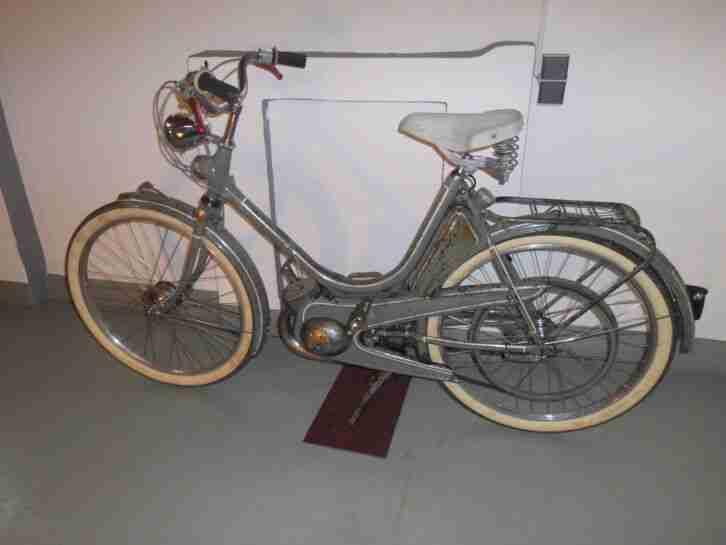 Hercules 213 Zündapp Combimot KM 48 Hilfsmot Moped Oldtimer von1953 mit Historie