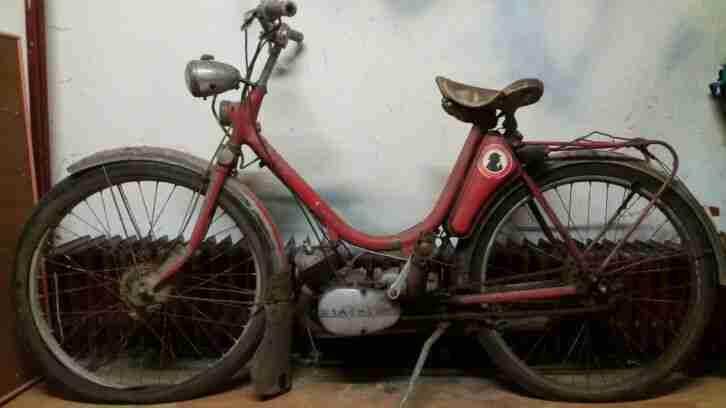 Hercules 214 Mofa Moped Oldtimer