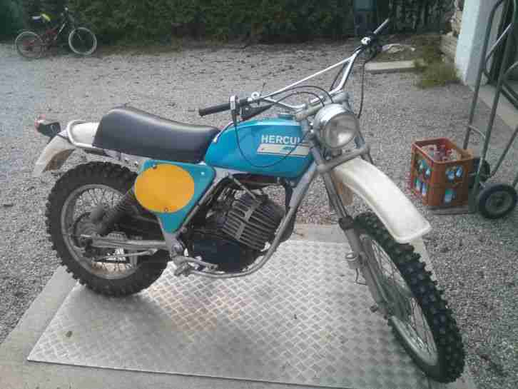 GS MC 125 Sachs 7Gang