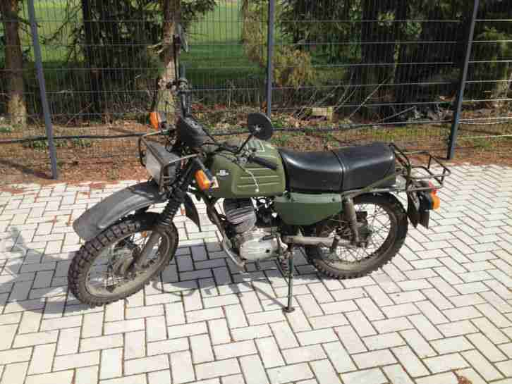 hercules k125 v2 bundeswehr bw motorrad offroad hercules. Black Bedroom Furniture Sets. Home Design Ideas