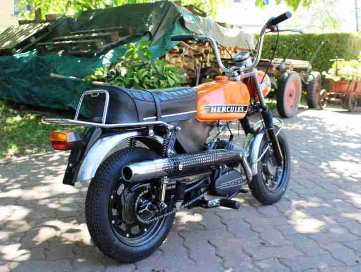 Hercules Sportbike SB1 SB5 große Fünfziger komplett restauriert