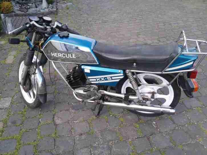 Herkules KX 5, fahrbereit, Motor und. Getriebe top,Tank super, E Teile ab 1 Euro