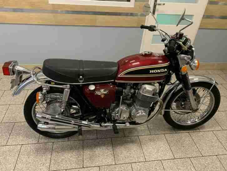 Honda 750 CB Baujahr 1976 Kilometerstand 13700km