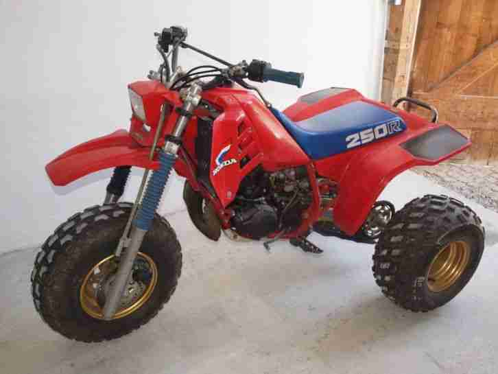 Honda ATC 250 R Trike Quad Big Red 125 185