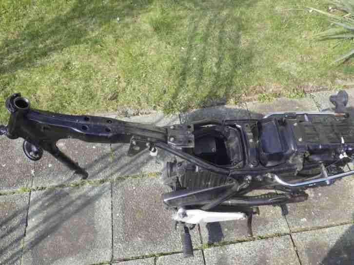 Honda CB 250 N Rahmen mit allen Papieren