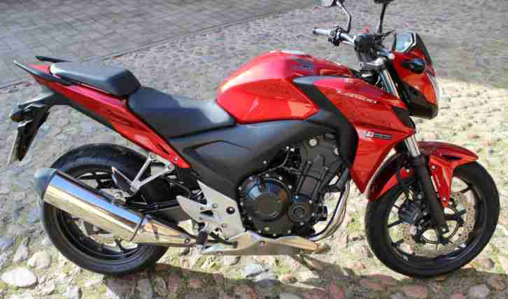 CB 500 FA mit ABS 35 kW 48 PS rot