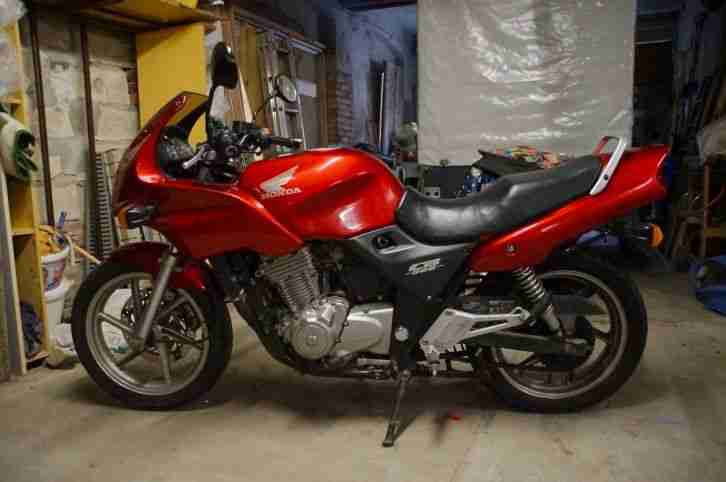 Honda CB 500 S Farbe Rot