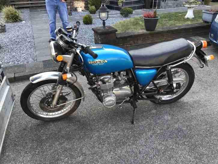 Honda CB 550 f Supersport Café Racer