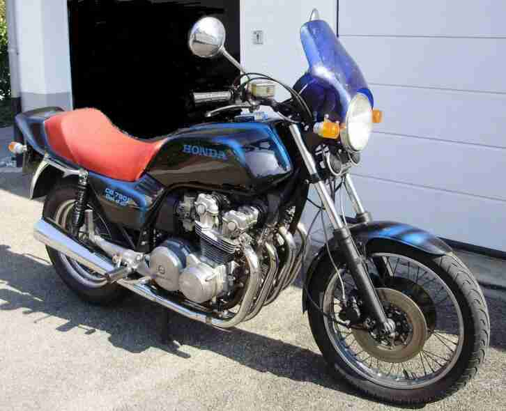 Honda CB 750 F Bol`dor RC04 Bj.81 mit 4 Zoll AME Hinterrad