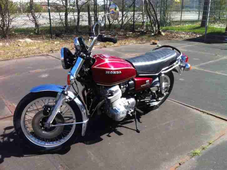 Honda CB 750 Four Automatik 7468 Mls. seit 1976 - Bestes Angebot von ...