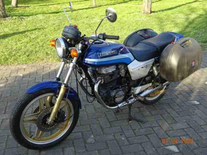 Honda CB400N Euro Sport Kofferset,TÜV08 21,Oldtimer,Baujahr 1979,20KW 27PS