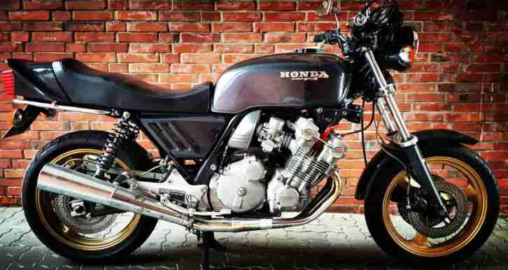 Honda CBX 1000 CB1 läuft und schaltet super