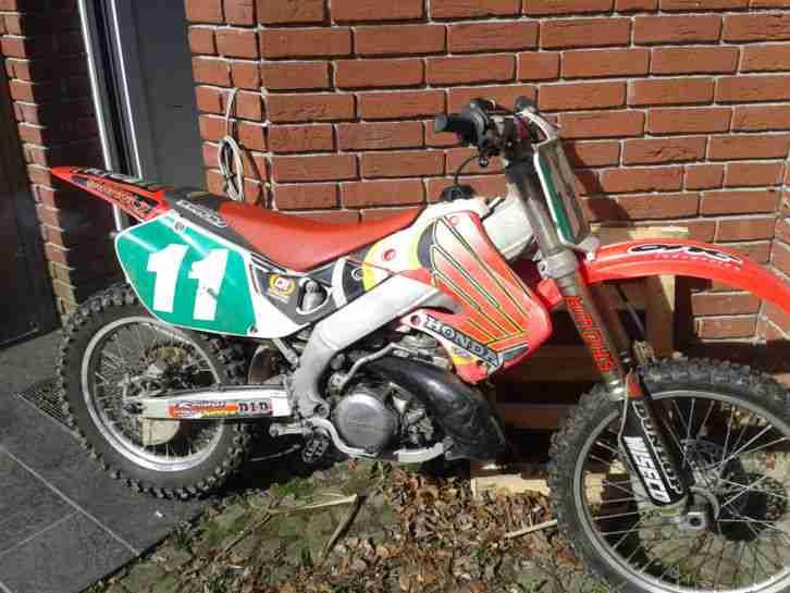 Honda CR 250 ME 03 2 takt Motocross vollcross rm sx yz kx 1999 sehr selten Rar