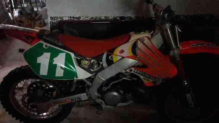Honda CR 250 ME 03 2 takt Motocross vollcross rm sx yz kx 1999 selten
