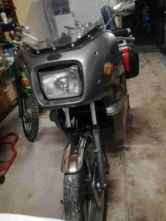 Honda CX 500 No Silverwing