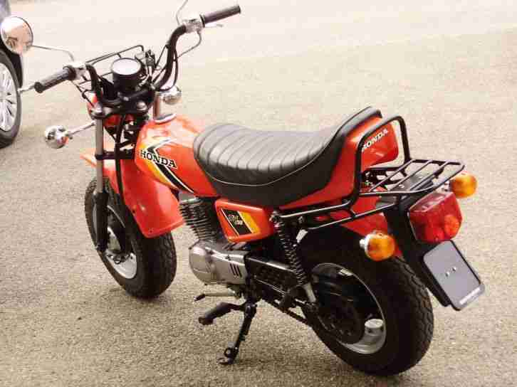 Honda CY50 Mokick Rot EZ.79 neu aufgebaut