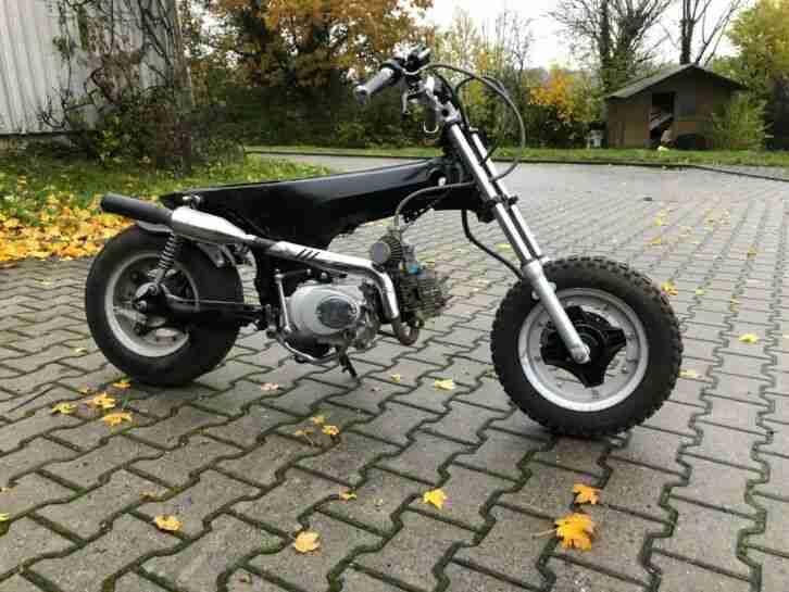 Honda Dax ST 50 G Custombike Chopper zum Aufbauen