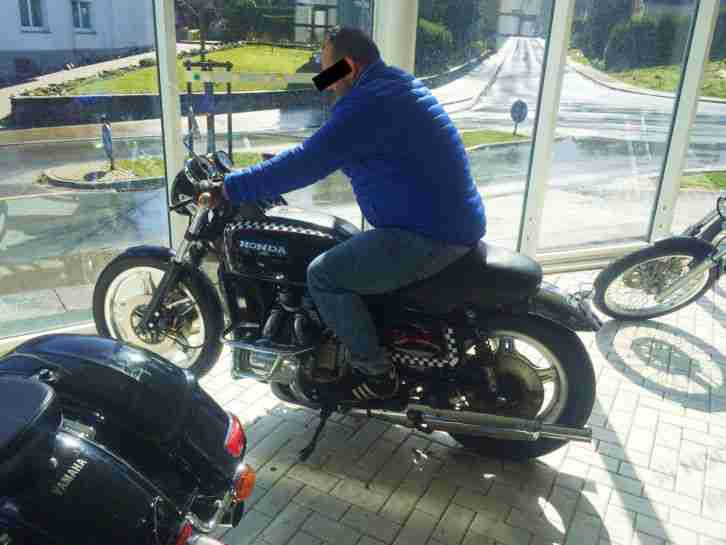 Honda Goldwing 1000 GL 2 Umbau-Caferacer-Bobber-Cafe Racer-Chopper-Custom