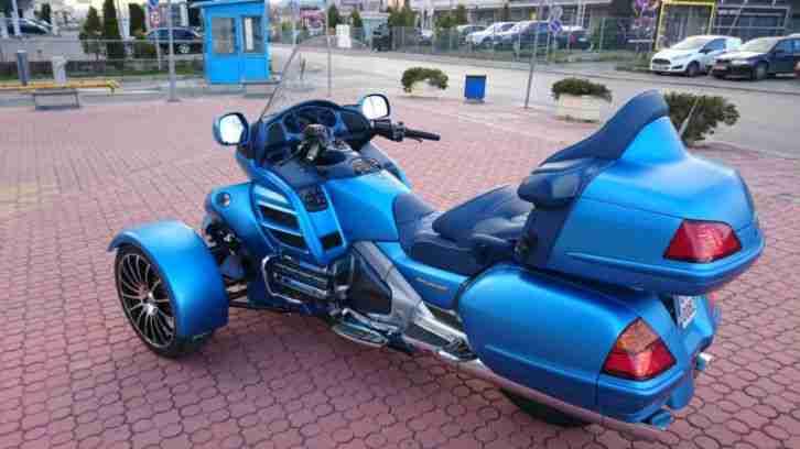 Honda Goldwing, GL 1800, R 18, reversed trike
