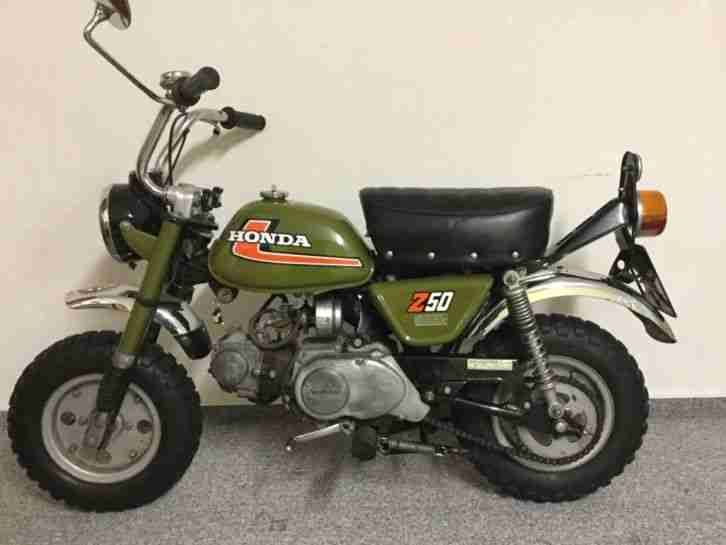 honda monkey z 50 j1 baujahr 1976 original bis bestes. Black Bedroom Furniture Sets. Home Design Ideas