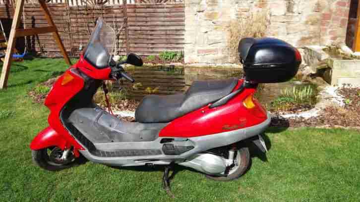 Honda Pantheon Motorroller JF05 125 ccm 15PS