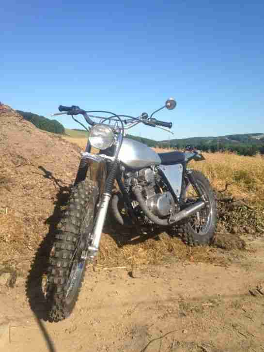 Honda Scrambler Enduro Custom Bike
