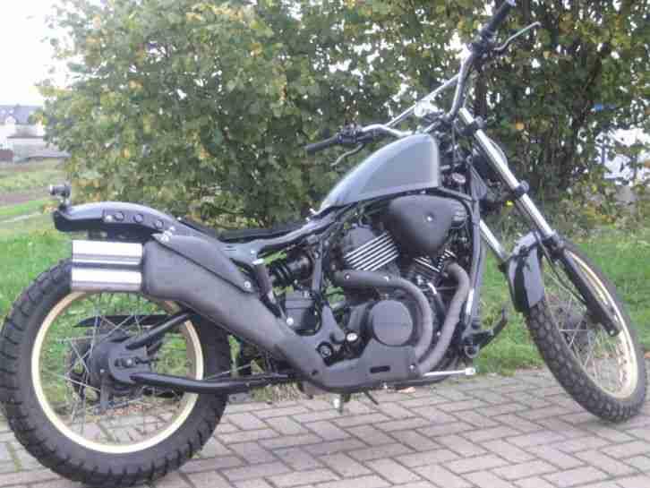 Yamaha   Enduro Bobber