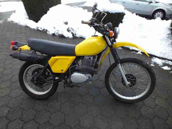 Honda XL 500 PD 01von 1981
