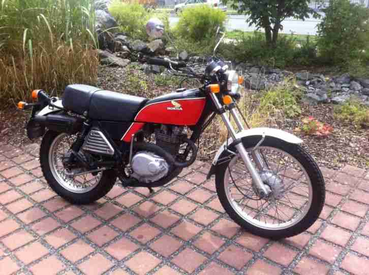 XL250 Enduro Baujahr 1976 Original