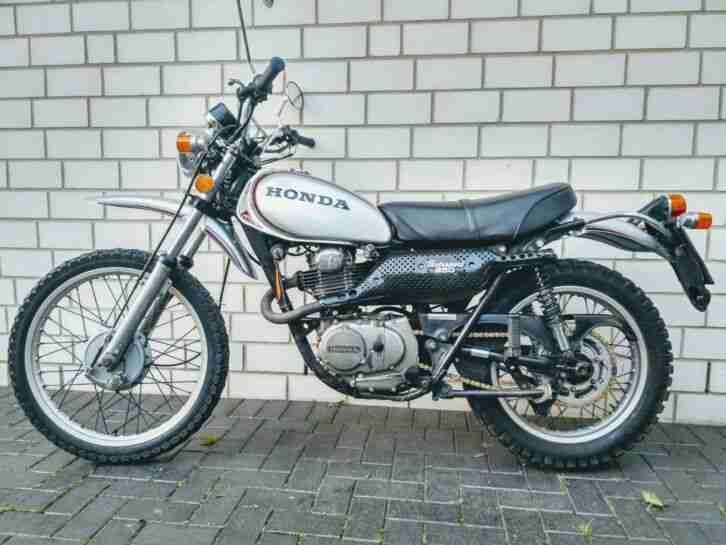 Honda XL250 K0, Bj. 1974, restauriert Eine von 300 Stk.!