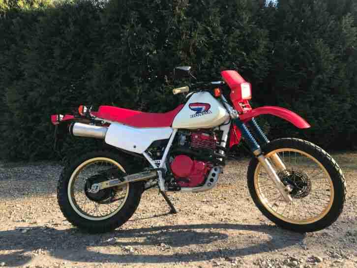 Honda XL600 RG 1986 USA California PD03