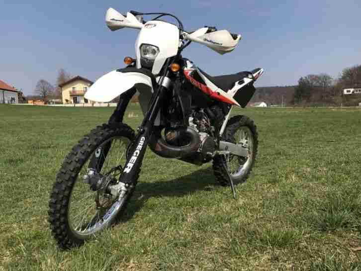 Husqvarna WR250 ähnlich KTM EXC 250