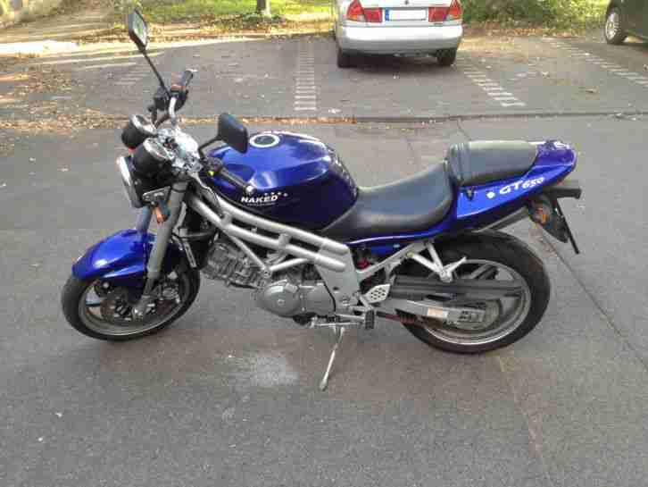 motorrad hyosung gt 650 niked bike tüv neu - Bestes
